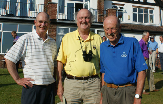 County President - John Roberts with Dave and Roy