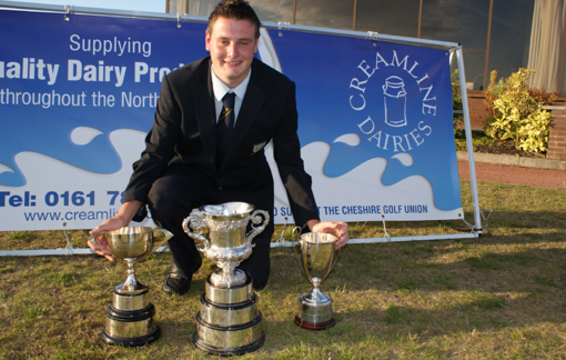 Fraser and all his Trophies