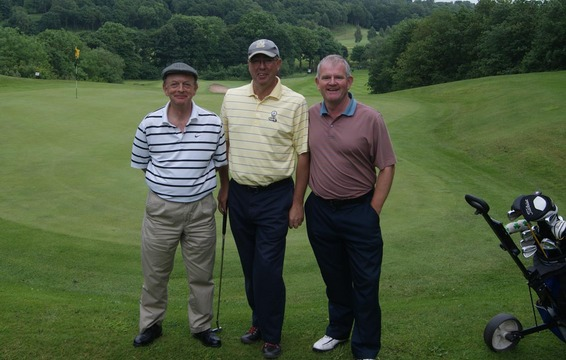 Bill Fisher - Alderley Edge GG, Steve Foster & Mike Campbell