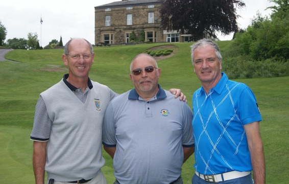 Ian Gemmel - Stockport GC, Dave Sanders - Reddish Vale & Paul Dalby - Didsbury GC