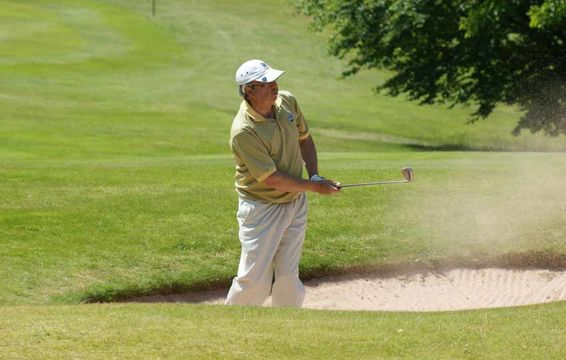 Steve Foster - County Secretary bunkered again!
