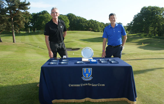John Nono, Ringway and Ron Harrison guarding the prizes!
